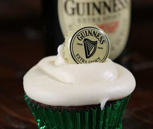 Easy Guinness Chocolate Cupcake Recipe