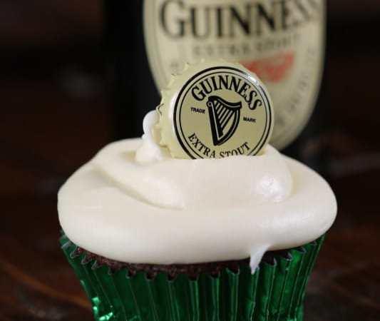 Easy Guinness Chocolate Cupcake Recipe