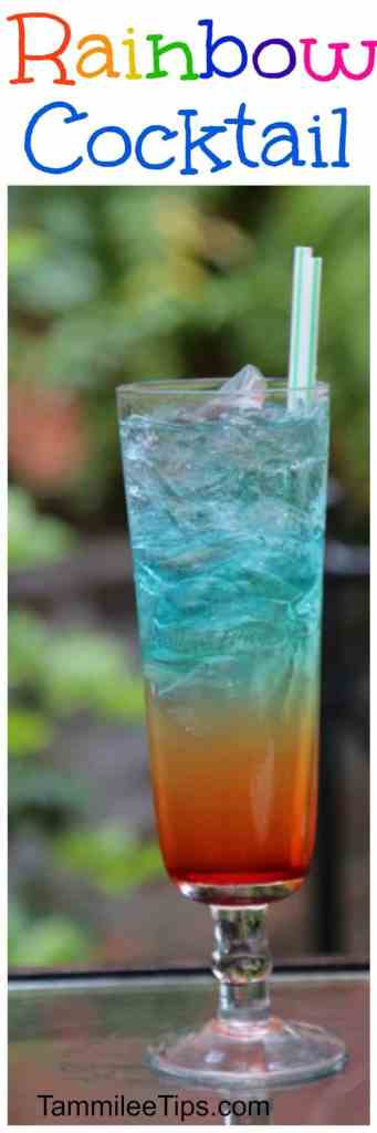 Super fun Rainbow Cocktail Recipe perfect for St Patricks Day, Summer, Bachelorette parties and more! Your St Pattys Day party will be so much fun with this drinks recipe