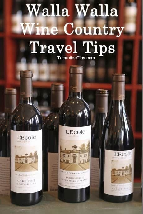 Walla Walla Wine Country Travel Tips
