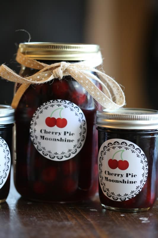 Crock Pot Cherry Pie Moonshine