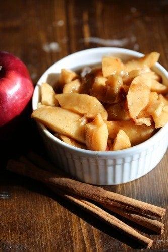 Crock Pot Fried Apples Recipe