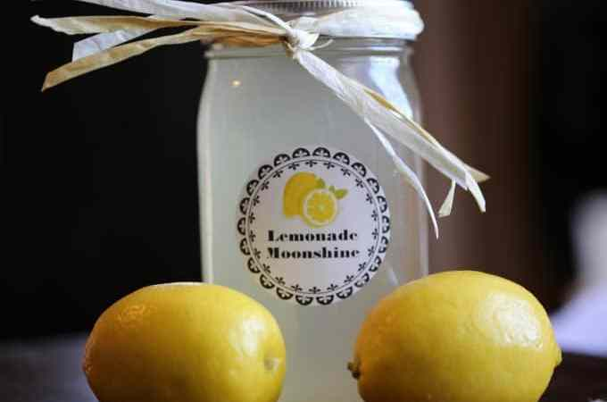 Slow Cooker Crock Pot Lemonade Moonshine Recipe