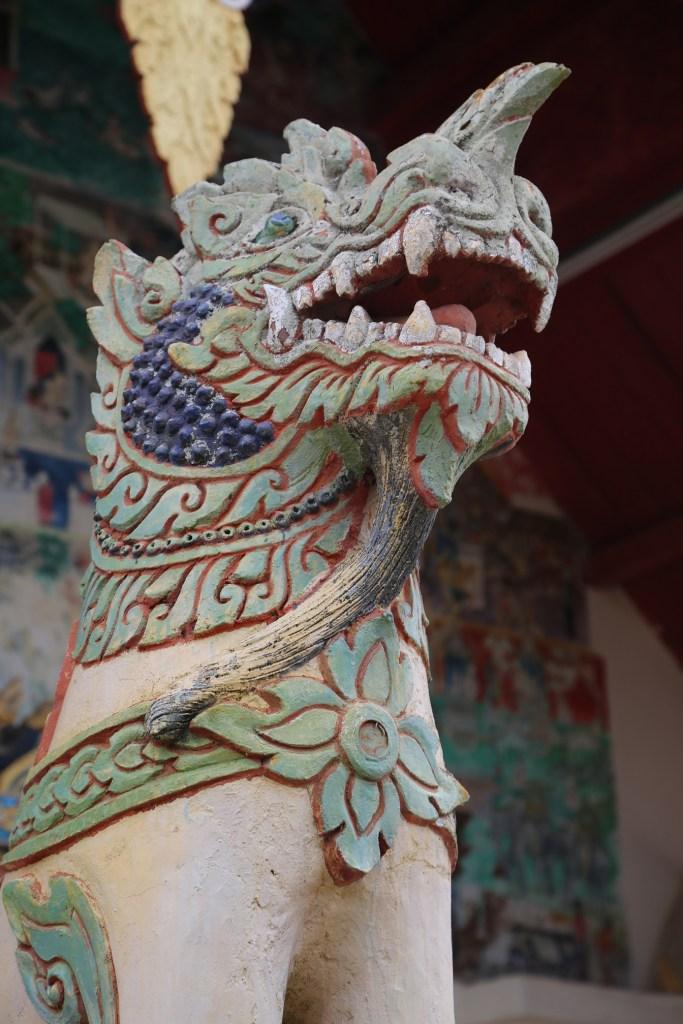 Chaing Khan Thailand temple guard