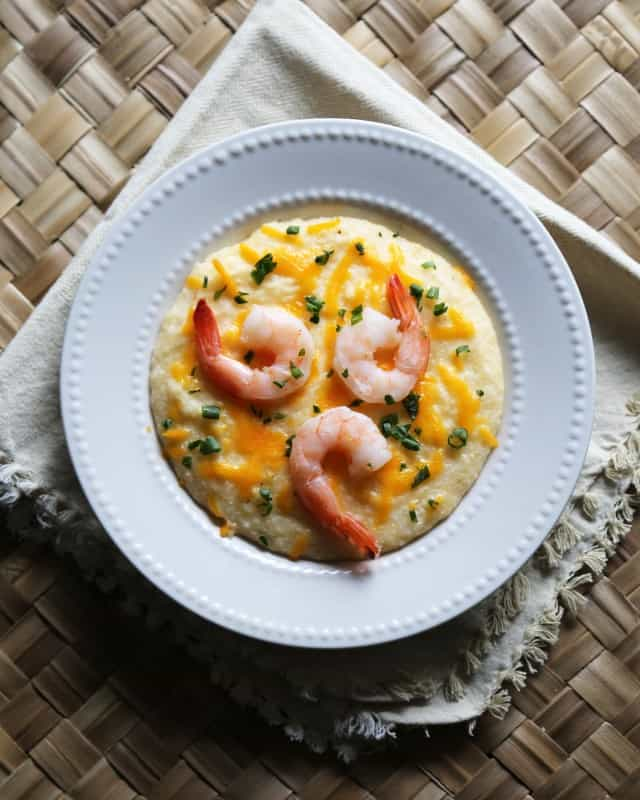 Crock Pot Shrimp and Grits