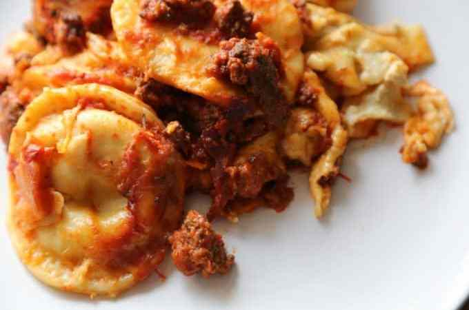 Crock Pot Ravioli Lasagna Recipe