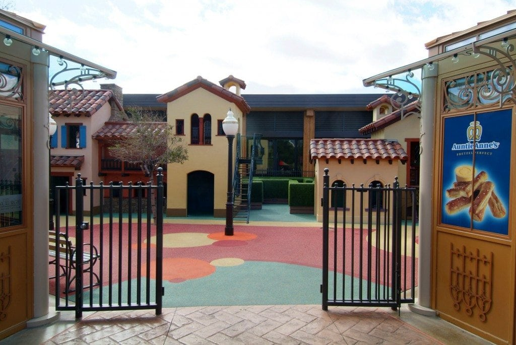 Children's Park Entrance