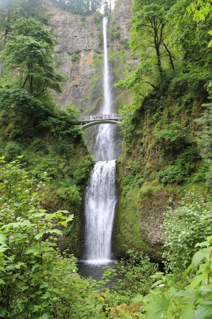 Mulnomah Falls near Portland Oregon 2