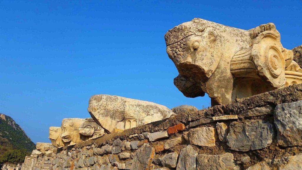 Blog inside Ephesus Turkey