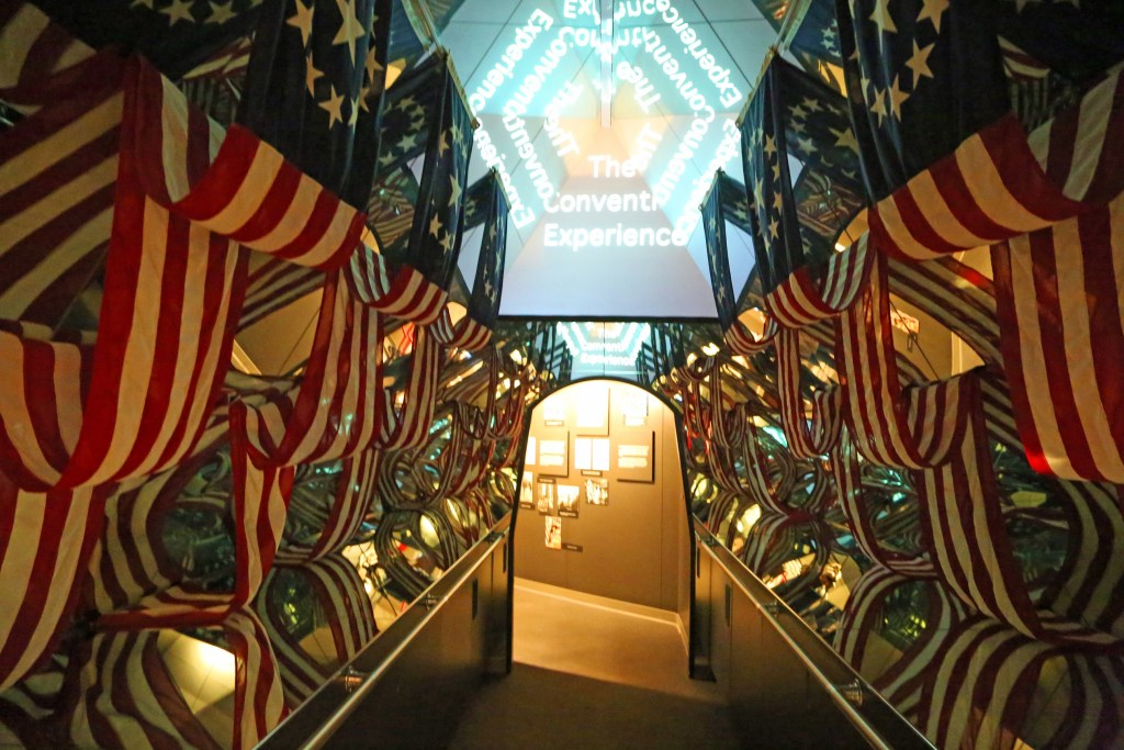 Hallway inside Gerald Ford Museum