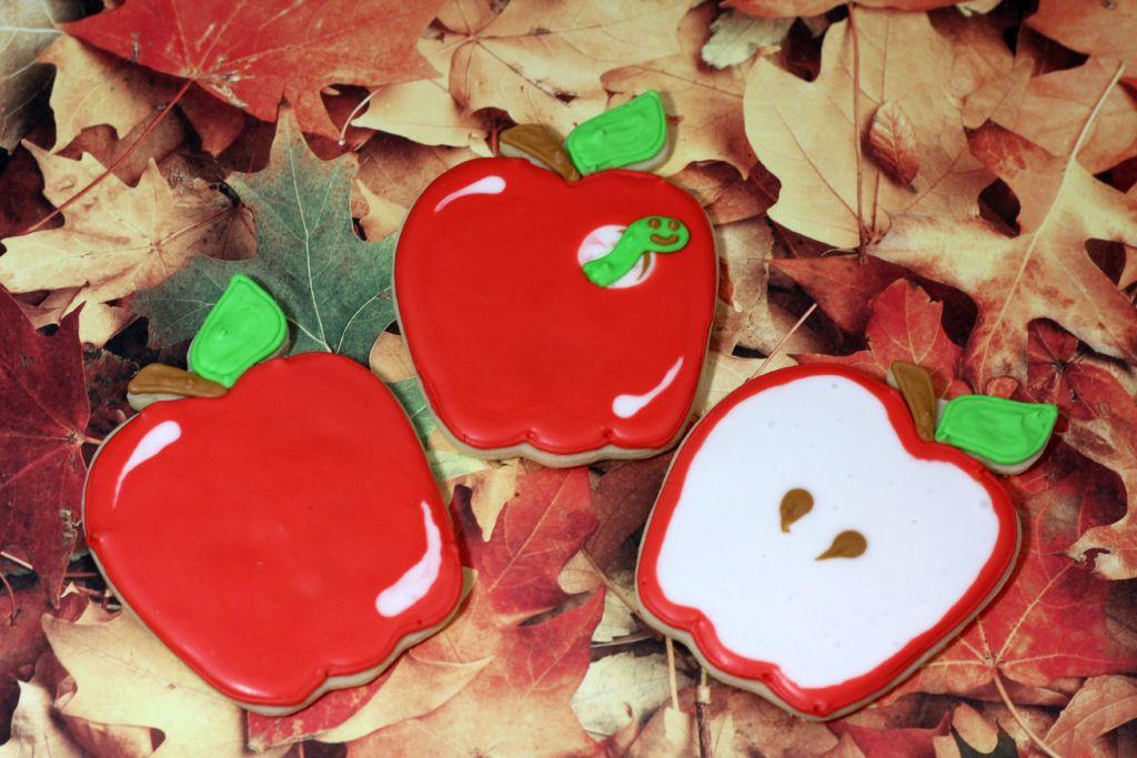super cute Apple Cookies