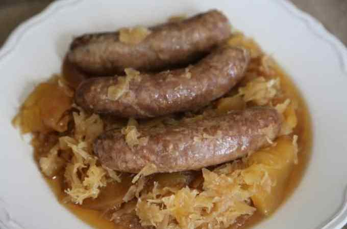 Crock Pot German Style Brats Recipe