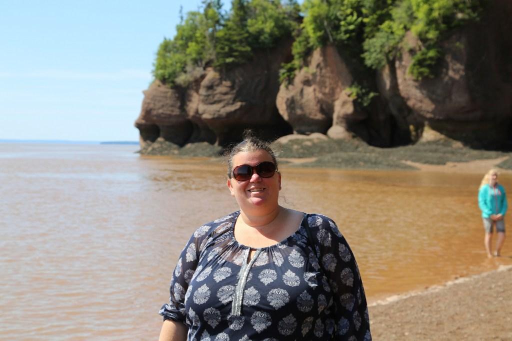 visiting Hopewell Rocks