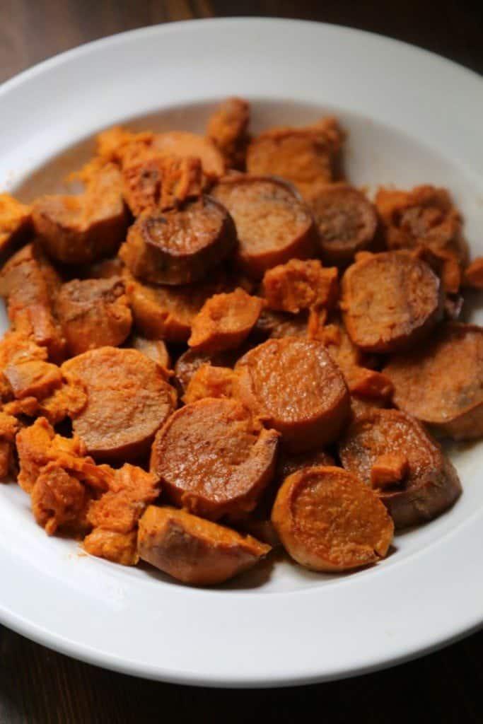 Crock Pot Candied Sweet Potatoes