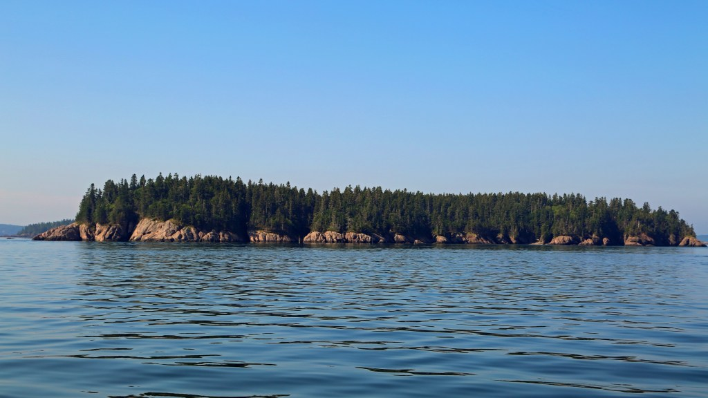 Island in the Bay of Fundy
