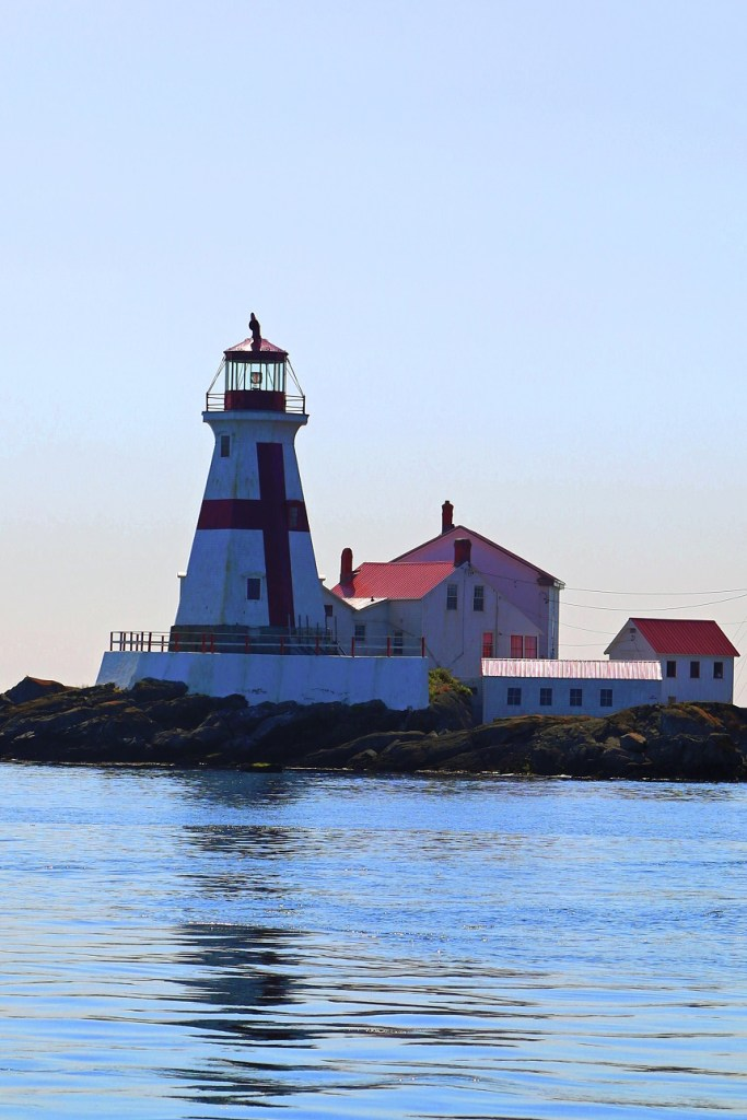 Lighthouse on the Bay of Fundy