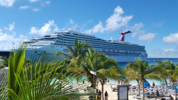 Paradise found in Grand Turk on the Carnival Conquest