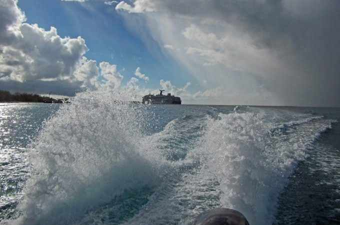 Reeling in a great time while Deep Sea Fishing in Grand Turk