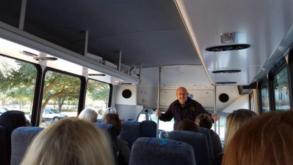 john on the wine train