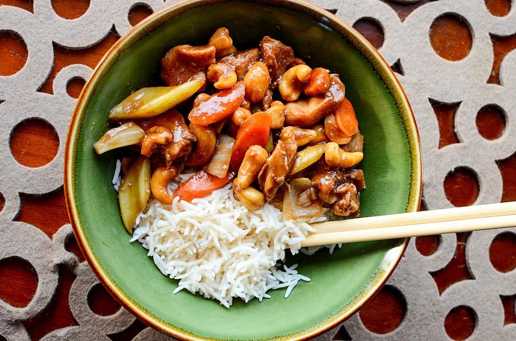 Crock Pot Cashew Chicken Recipe