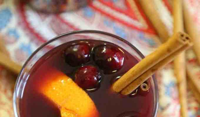 Slow Cooker Crock Pot Mulled Wine Recipe