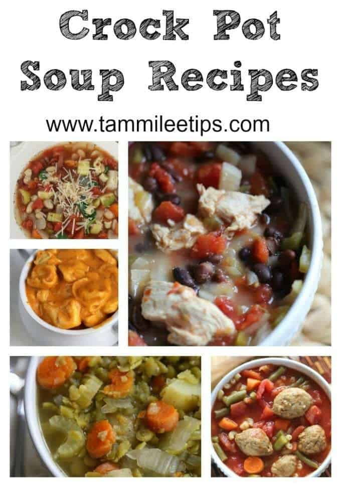 Crock Pot Soup Recipes your family will love! Let the slow cooker do all the work and enjoy these great soup recipes perfect for winter or any season!