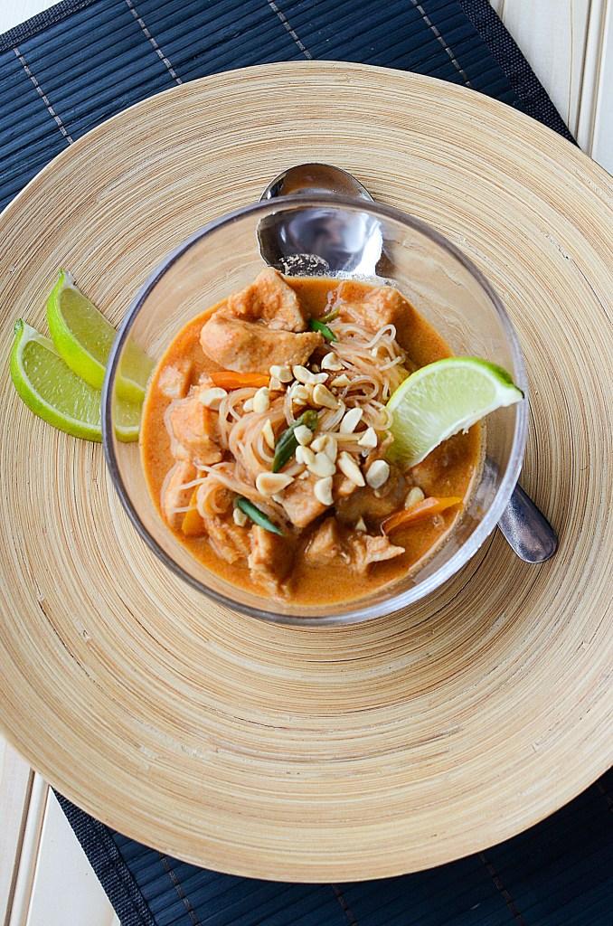 Crock Pot Thai Chicken Stew Recipe