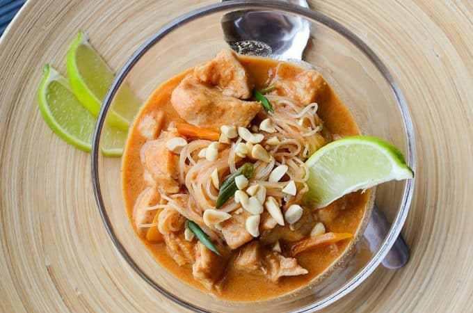 Slow Cooker Crock Pot Thai Chicken Stew Recipe
