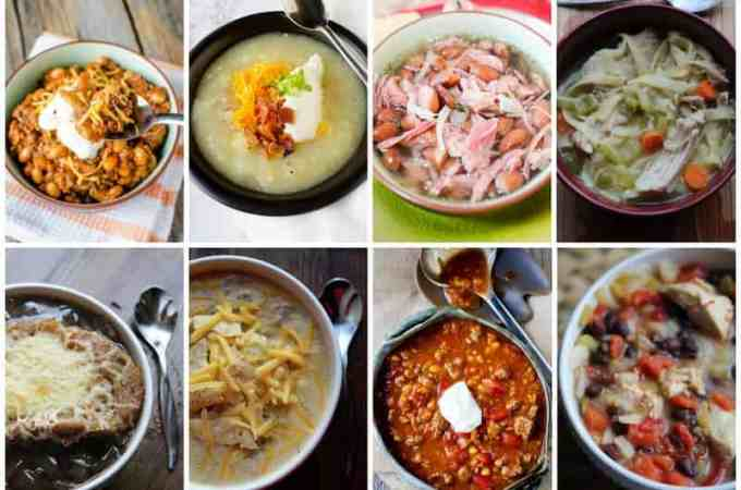 Slow Cooker Crock Pot Soup Recipes