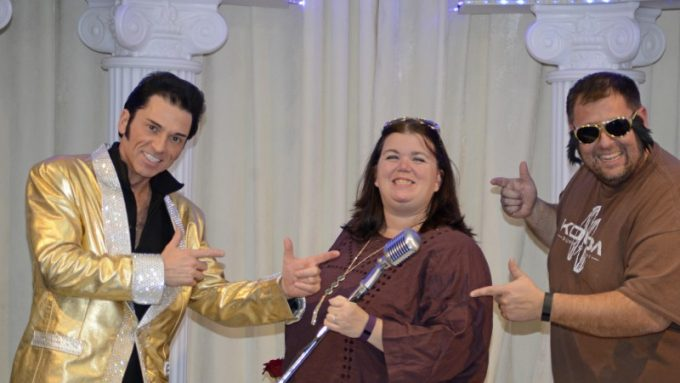 We did it! Elvis Wedding Las Vegas Vow Renewal!