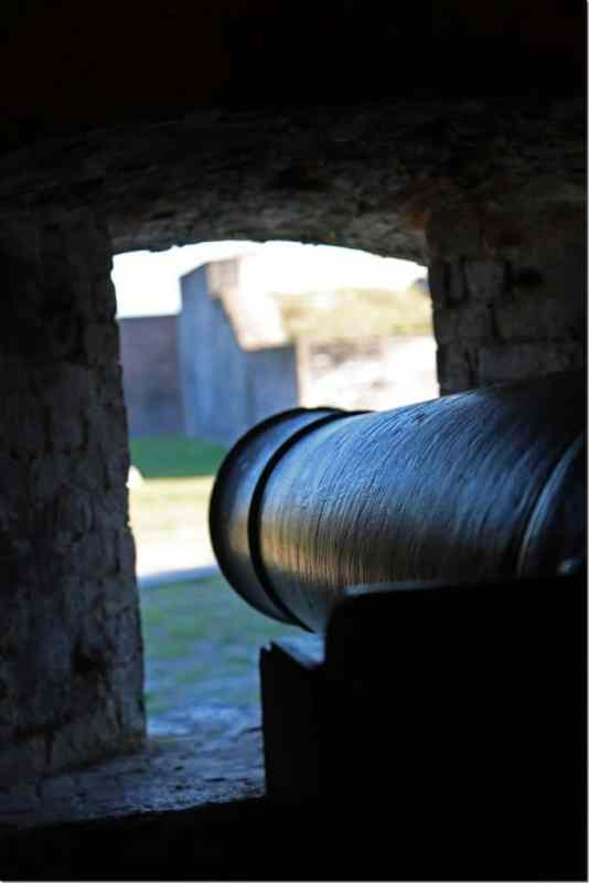 Cannon at Fort Pickens in Gulf Islands National Seashore