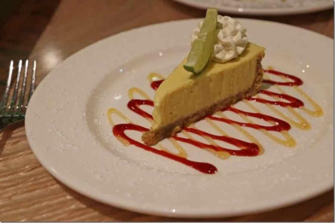 Key Lime Pie at Margaritaville Pensacola