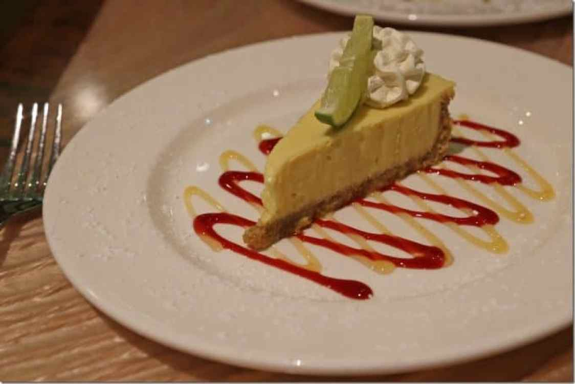 Key Lime Pie at Margaritaville Pensacola