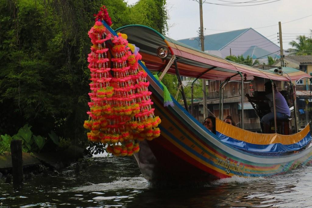 boat on the Choa Phraya river Thailand
