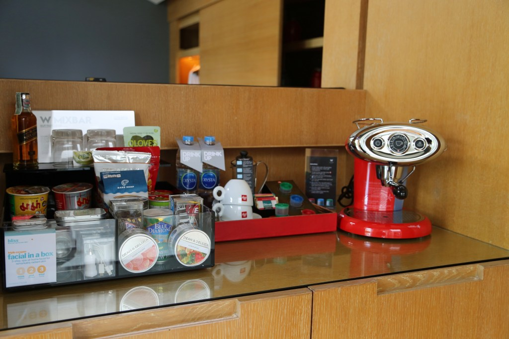 coffee at the W Koh Sammui