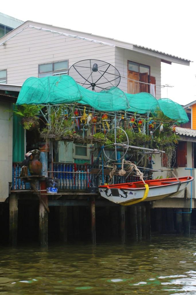 house along the Choa Phraya River
