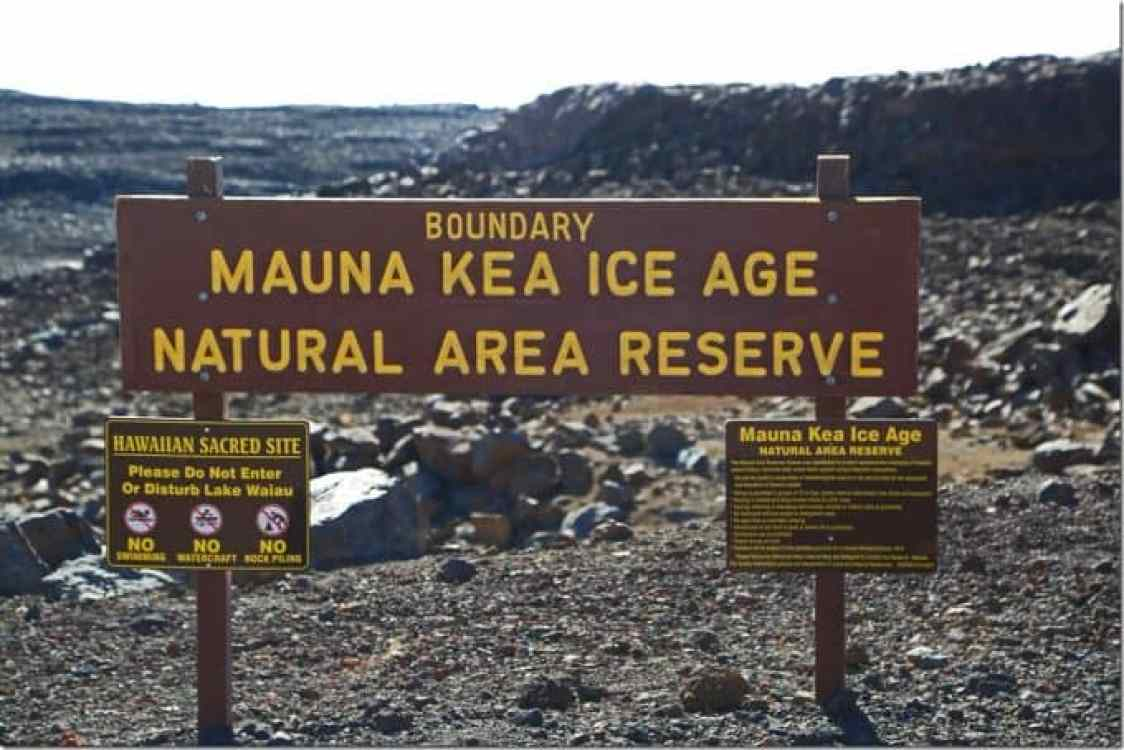 Mauna Kea Ice Age Reserve Big Island of Hawaii