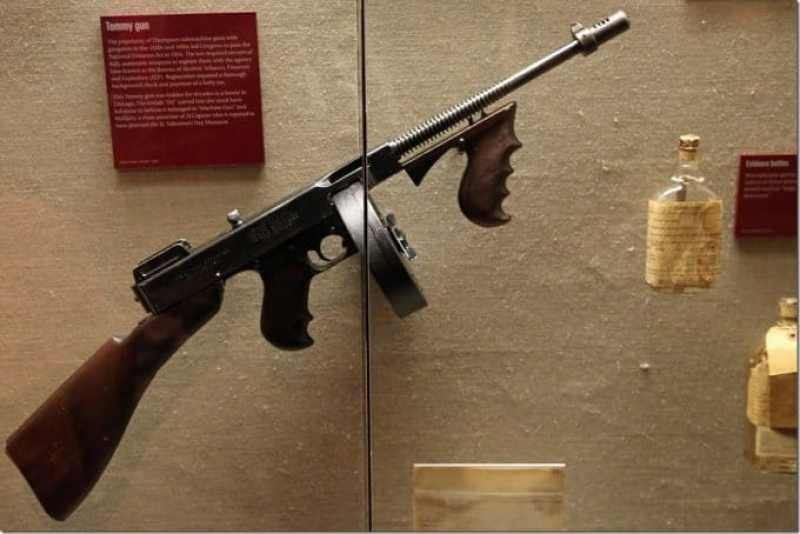 Tommy Gun at the Mob Museum