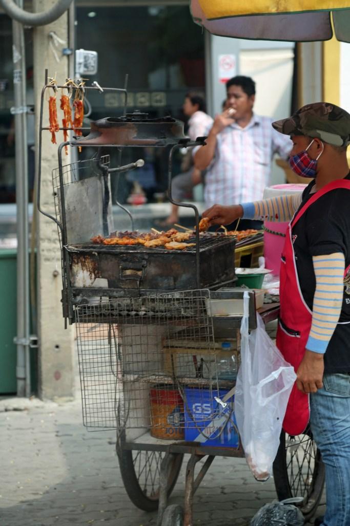 food cart at Sunday Market Thailand