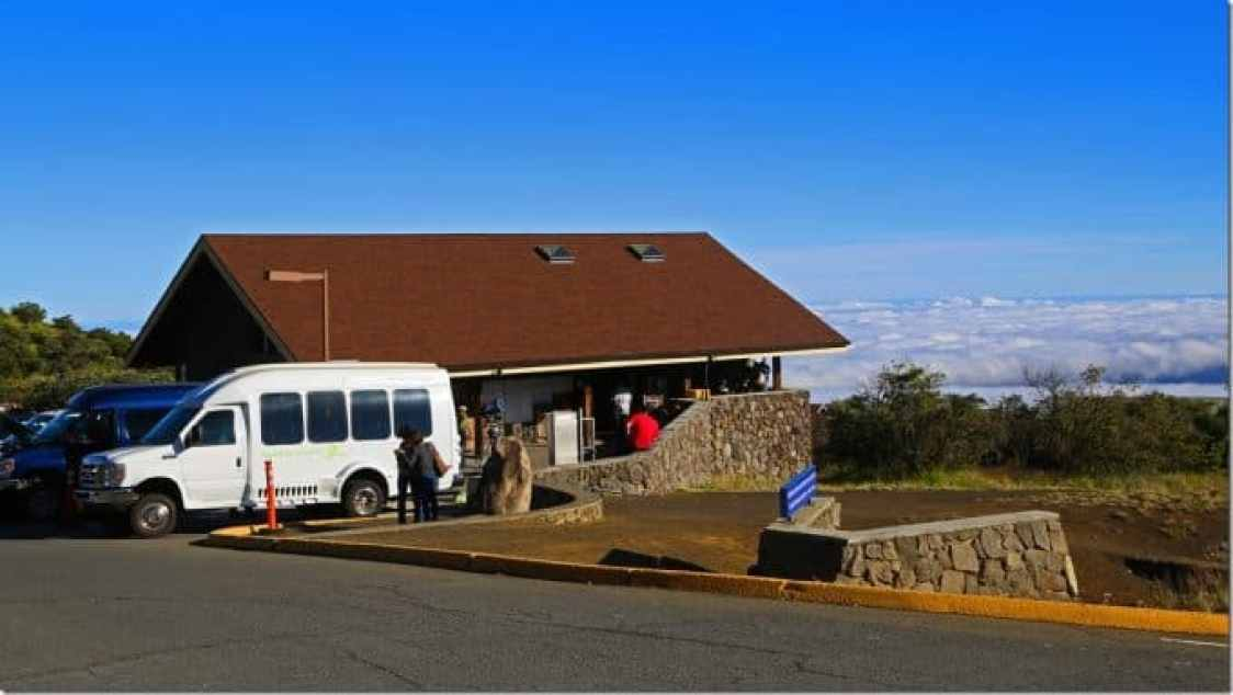 visitor center on Mauna Kea Big Island of Hawaii