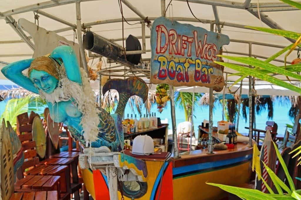 Drift Wood Boat Bar