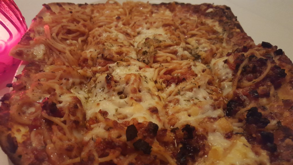 Spaghetti Pizza Farinas Grapevine Texas