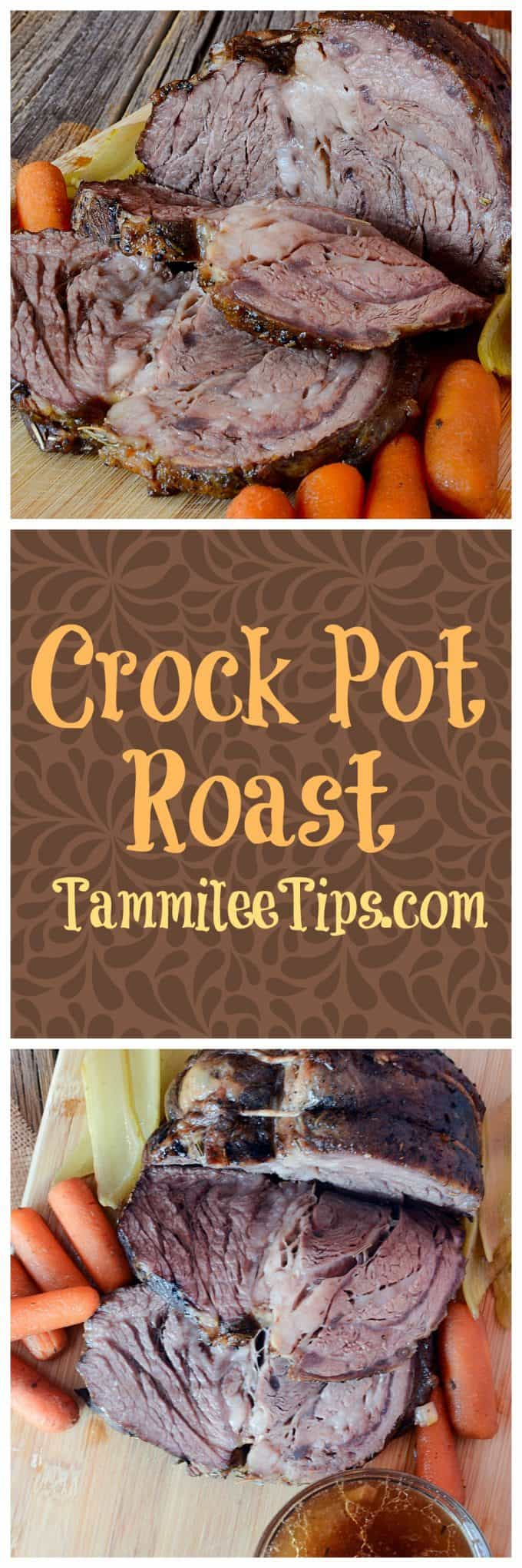 Easy crock pot roast recipe tammilee tips easy crock pot roast recipe with vegetables one of the best comfort food recipes we forumfinder Gallery