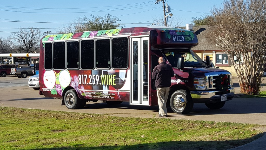 grapevine wine tour