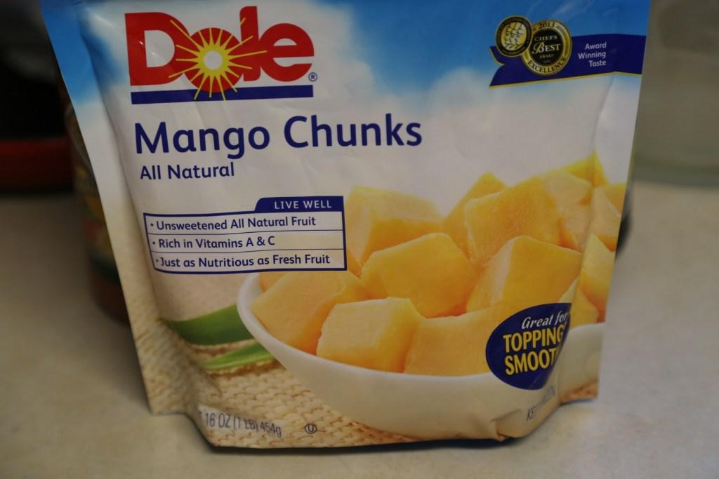 Dole Mango Chunks 3