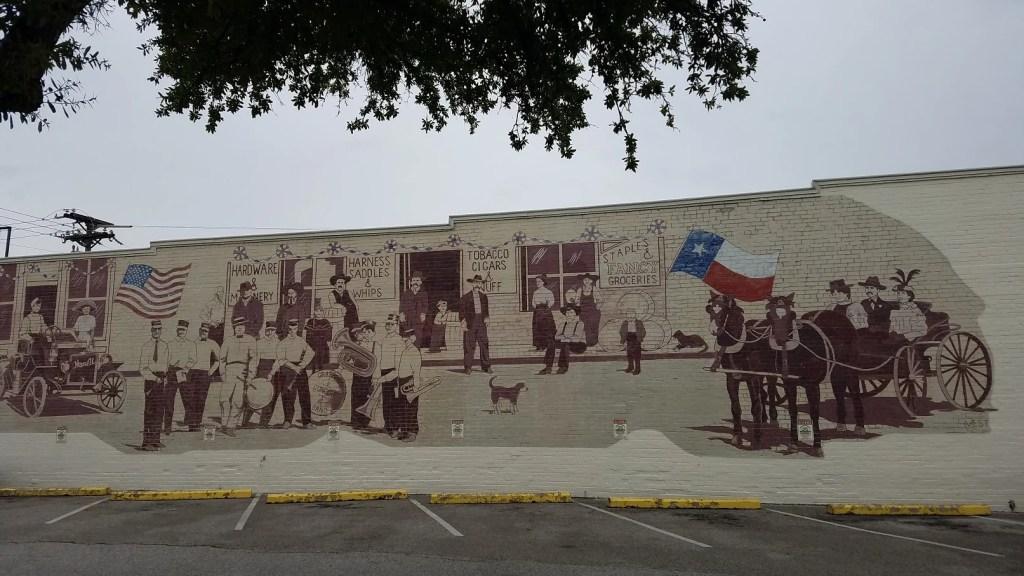 Grapevine Mural