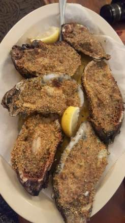 Oysters at Pat's of Henderson
