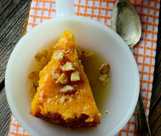 Crock Pot Pumpkin Dump Cake Recipe