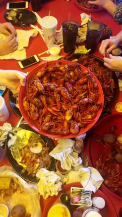 Crawfish Boil at Steamboat Bill's Seafood