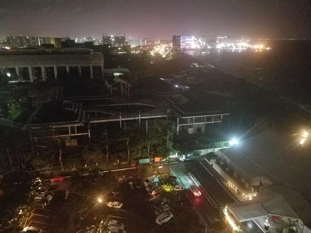 Typhoon Karen in Manila, Philippines
